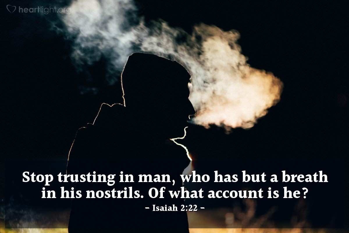 Isaiah 2:22