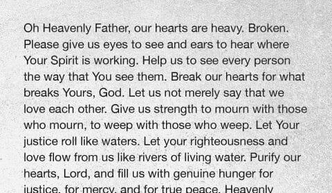 prayer for true justice