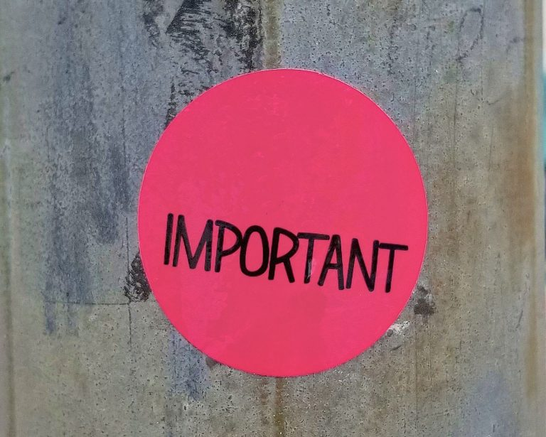 Your Important